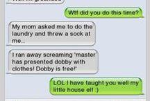 harry potter stuff / Harry potter!!!