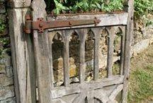 GARDEN: Gates & Stone Walls