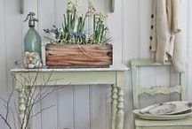 Seasonal living - Spring / Spring colours, ideas, looks and lovely things.