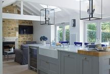 Modern country - kitchen / Classic, contemporary, country kitchen style.