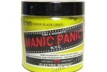 Manic Panic Hair Dyes / Beeunique colour swatches & others photos from Pinterest