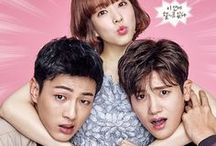 K-Dramas of 2017 / Pictures of Aired, currently airing, or upcoming dramas! Only dramas that aired in 2017, or that began airing in 2016 but finished in 2017! If you would like to be added send me a message or email with your pinterest url to willkia17@gmail.com
