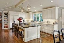 "Kitchens / ""If you can't stand the heat, get out of the kitchen.""