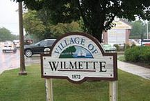 Wilmette / The present Village of Wilmette is distinct among North Shore communities because it was created by the 1924 merger of two older villages, Wilmette and Gross Point. The origins and development of these two communities differed, and this difference is still visible on the landscape.