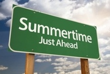 Summertime Fun / Summer is here and in full effect. Here are some recipes, tips,  and fun activities for the summer.