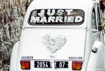 WEDDING TRANSPORT / It's all about style. Wedding transport inspiration.