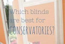 The Best Blinds for Conservatories / Ideas for Conservatory shading solutions