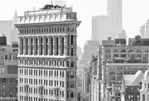 """Vintage New York / """"...no matter what the season was, this was still a town that existed in black and white and pulsated to the great tunes of George Gershwin. """""""