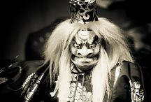 Noh Theatre / Japanese traditional masked drama