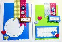 Ručně vyrobené dárkové karty/Hand-made gift cards