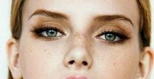 • M A Q U I L L A G E • / yeux - bouche - teint - ongles
