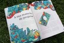Revista Leaf / A sua maneira de projetar | Ilustrações criadas para a terceira edição da revista Leaf.