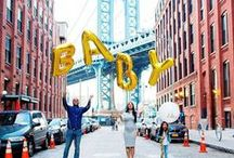 Baby Announcement Ideas / Announcing your pregnancy can be one of your greatest memories! We have some ideas to help you publicize the growth of your family.