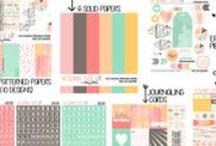Sunny Side Up Digital/Printable Scrapbook Collection / Digital/Printable Scrapbook Collection