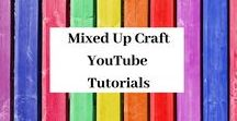 YouTube Tutorials By Mixed Up Craft / A board full of all my YouTube tutorials.