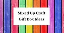 Gift Boxes by Mixed Up Craft / A mix of easy and really unusual gift boxes, there's something here for all abilities.