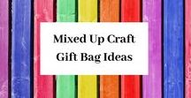 Gift Bags By Mixed Up Crafts / A variety of gifts bags of all shapes and sizes.