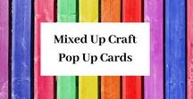 Mixed Up Craft Pop Up Cards / A board full of my Pop Up Card designs.