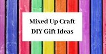 DIY Gift Ideas by Mixed Up Crafts / DIY gifts anyone can make. These fun and inexpensive homemade gifts really do add that special touch.