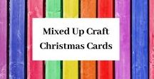 Mixed Up Craft Christmas Cards / A board full of my Christmas card designs.