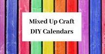 Mixed Up Craft  DIY Calendars / A board full of my DIY Calendar designs & ideas.