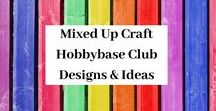 Hobbybase Club Monthly Kit Projects / This board showcases all of the projects I make with my monthly craft kit by Hobbybase UK