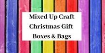 Christmas Gift Boxes & Gift Bags / A board full of my Christmas themed Gift Boxes & Bags