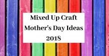 Mothers Day Series 2018 / A board full of all my 2018 Mother's Day projects.