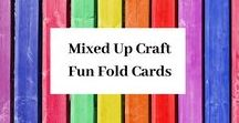 Fun Fold Cards by Mixed Up Craft / A board full of all my Fun Fold & Fancy Fold cards.