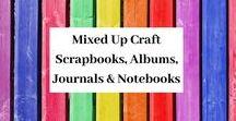 Scrapbooks, Photo Albums, Journals & Notebooks / A board full of my Scrapbook, Photo Album, Journal & Notebook ideas & designs.