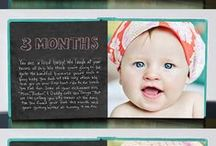 **Photo Books Ideas** / Whether it gives you a peek on everyday moments or tells the story of the greatest milestones in life like the birth of your children, your wedding or that amazing trip… Photo Books are the perfect keepsake!