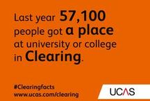 Clearing facts / Key facts about Clearing - check them out and repin to inform a friend! #UCAS #University #Clearingfacts