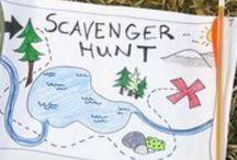 Scavenger hunts and other fun for kids / Etsi ja löydä -tehtäviä eri oppiaineisiin