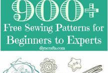 Crafts: ompeluvinkkejä / Sewing guides, ideas and patterns