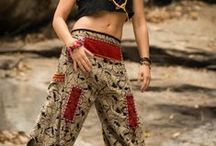 Thai Hill Tribe and Traditional Fabric Pants / http://www.harempants.com/collections/hill-tribe-and-traditional-fabric-pants