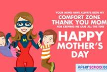 Mother's Day e Cards (Free) / Send warm hugs and kisses to your mom this Mother's day. Share these beautiful eCards for free! Don't forget to tag them! If you love our work, follow us on pinterest  @afterschoolae