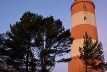 Art: Lighthouses / Antamaan inspiraatiota majakoiden tekoon teknisissä töissä alakoulussa
