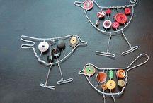 Crafts: easy metal works / Helppoja metallitöitä alakoululaisten teknisiin töihin