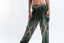 Green Harem Pants / http://www.harempants.com/collections/green