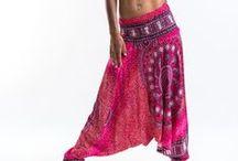 Pink Harem Pants / http://www.harempants.com/collections/pink