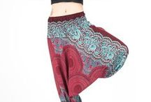 Red Harem Pants / http://www.harempants.com/collections/red
