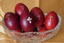 Lent - Easter ~:~ Σαρακοστη - Πάσχα  / My Greek Easter Inspiration Board / by Greek Mommy