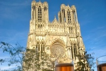 Reims Champagne / Champagne is not just a drink in France, it's a region. The inhabitants of Reims in the Champagne region are proud of their local champagne but also of their wine cellars which were dug into the limestone. #Paris #PARISCityVISION #VisitParis