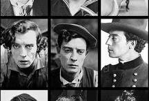 Buster Keaton Comedic Genius / Buster Keaton is my personal favorite silent film icon. He was a stuntman, an innovator and the greatest comedic character ever. The sets Buster built and the lengths he went to get the gag perfect is truly inspiring.