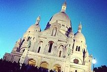 Sacre Coeur / One of France's most famous monuments, the basilica of the Sacred Heart of Paris is a dedication to the Sacred Heart of Jesus located on the highest point in the city.  #Paris #PARISCityVISION #VisitParis