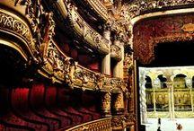 Operas in Paris / Even though Operas are Italian, Paris dedicates several buildings for this type of preformances. #Paris #PARISCityVISION #VisitParis