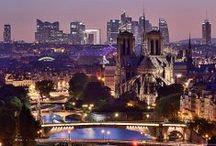 Paris by night / Charming during the day, Paris procure even more glamour during the night. The dark can not hide Paris' romantic scenery. #Paris #PARISCityVISION #VisitParis