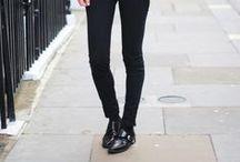Black Pants /
