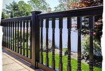 Illusions Vinyl Railing System / Looking for the best PVC vinyl deck railing ideas? Want more PVC vinyl railing colors to match your deck or home accents? The Grand Illusions Color Spectrum Color Vinyl Railing colors have been specifically chosen to match other household accents such as shutters, trim, doorways, siding, etc. The Grand Illusions Vinyl WoodBond series of wood grain vinyl railing is probably one of the most amazing products to hit the railing industry since vinyl railing itself.