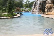 Water Features / Water features in swimming pools